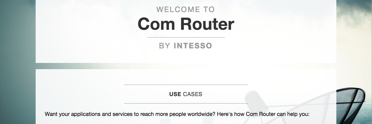 comrouter | enabling diverse communication
